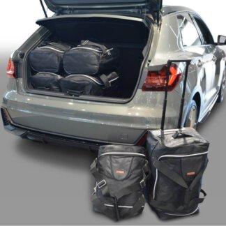 Audi A1 (GB) 2018-heden 5d Car-Bags reistassenset (verstelbare laadvloer in onderste stand)